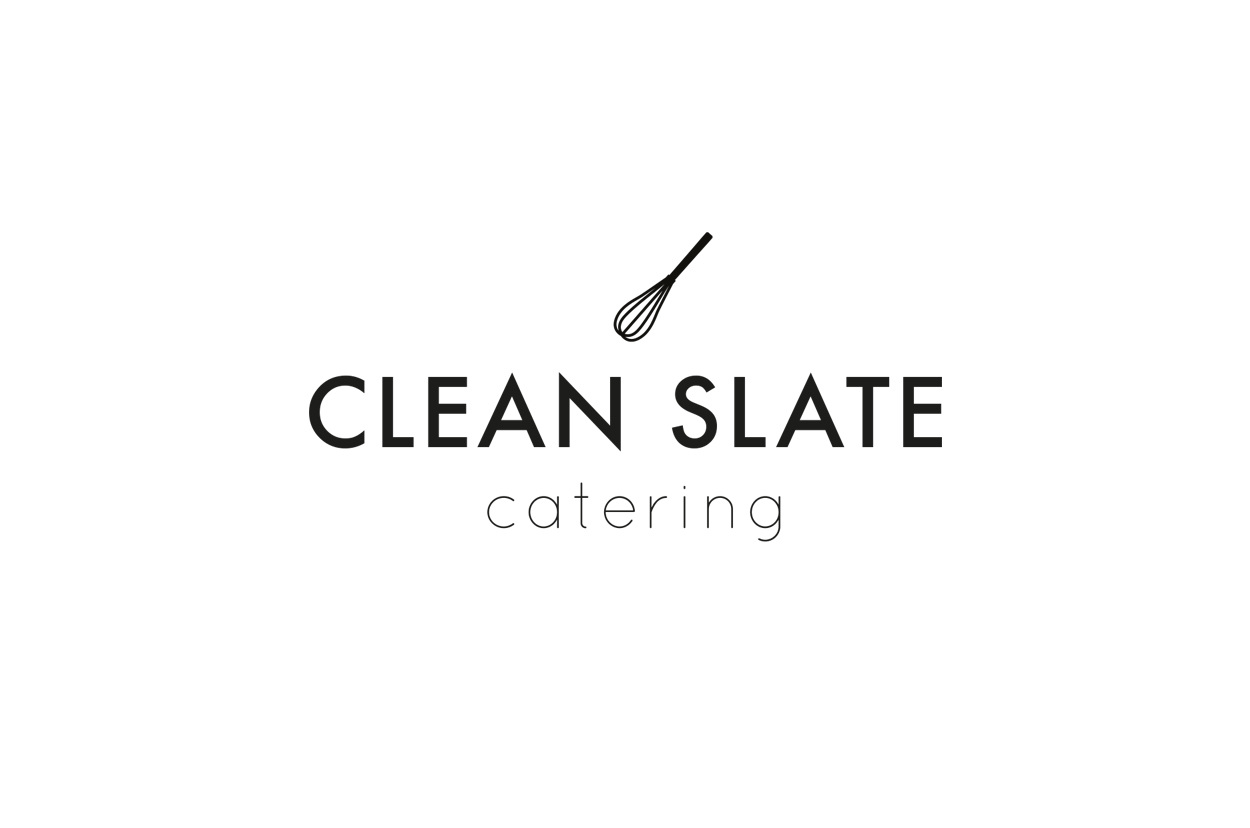 Clean slate catering victoria lacroix identity for clean slate catering a fast growing independent company in london the brand overhaul included a new logo website and business cards reheart Images