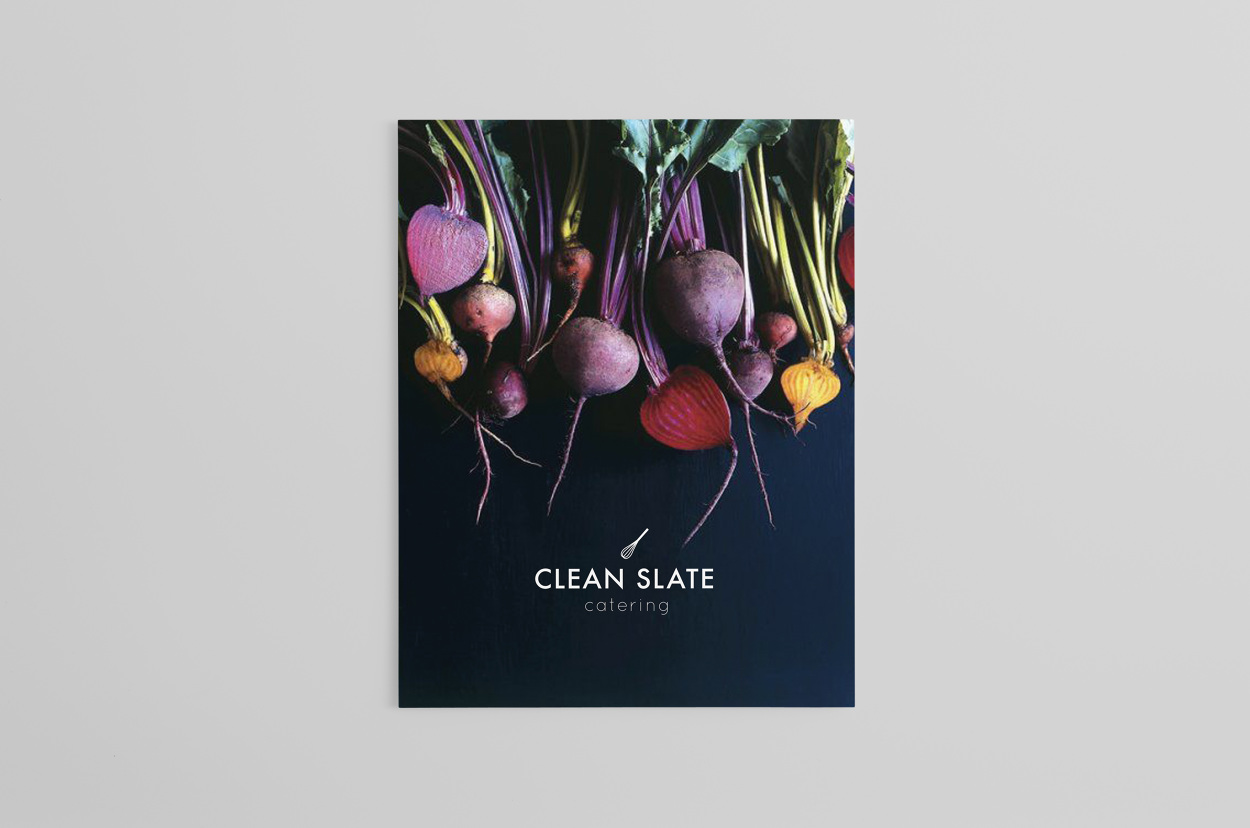 Clean slate victoria lacroix identity for clean slate catering a fast growing independent company in london the brand overhaul included a new logo website and business cards reheart Images